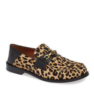 NWOB Coach Putnam Leopard Calf Convertible Loafer